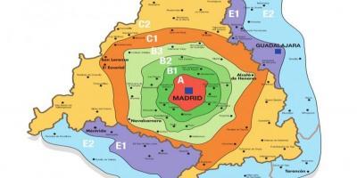 Madrid Mapa Mapas De Madrid Espanha